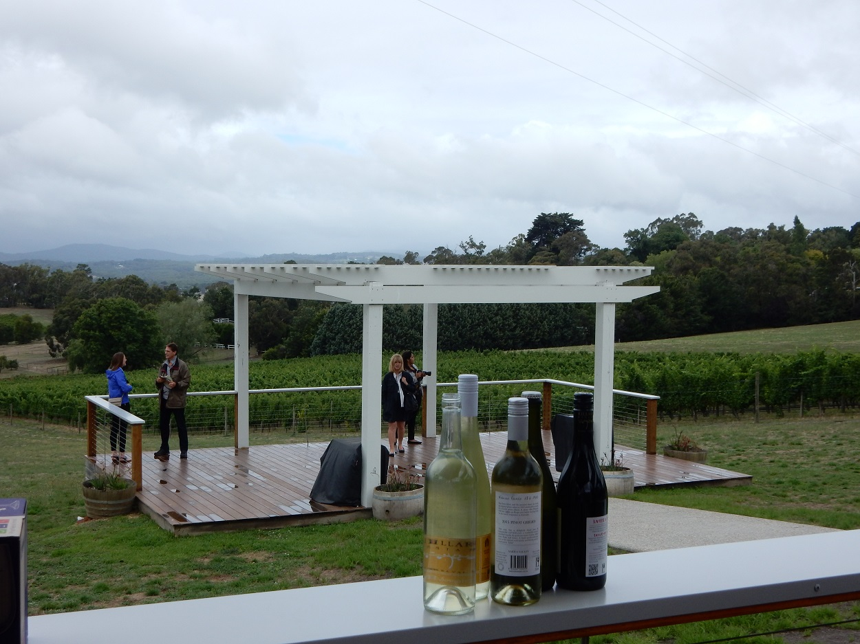 Killara wines sampled during our visit
