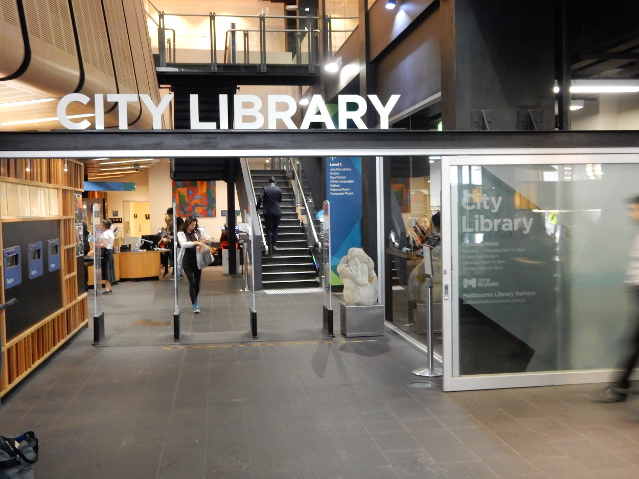 The City Library is conveniently located near Flinders Street