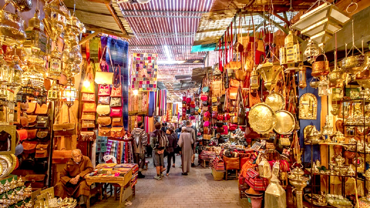 The Souk In Marrakech