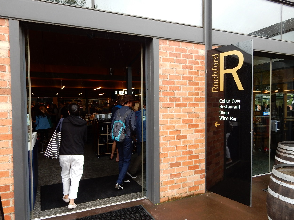 Entrance To Rochford Winery