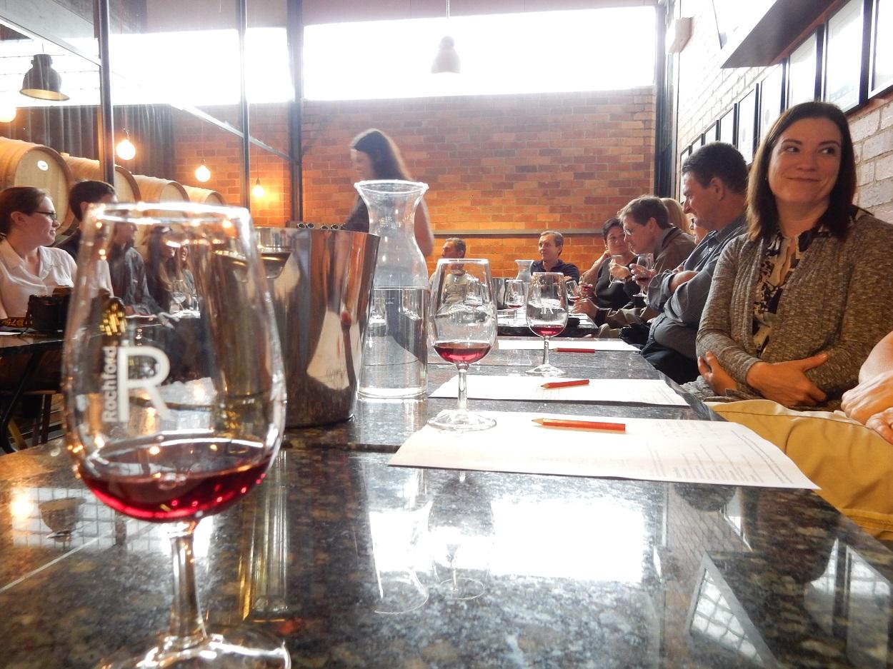 Wine flowed freely in Rochford wine tasting
