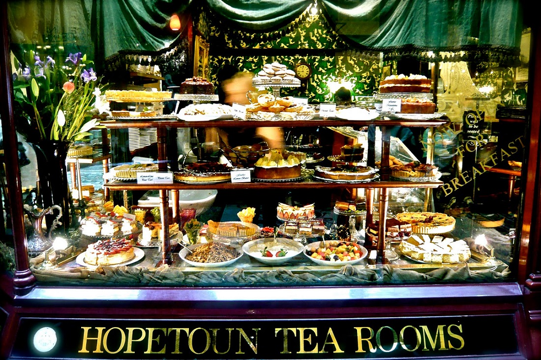 Tea Rooms In The Royal Arcade
