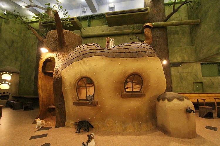 Temari No Ouchi Whimsical Cat House