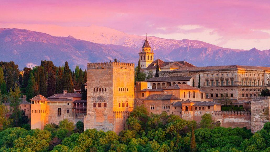 Al Hambra in Granada, Spain