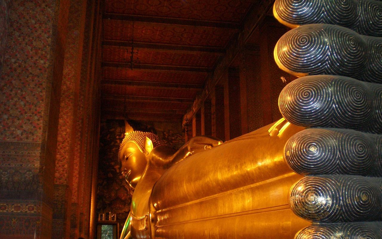 Reclining Buddha (Bangkok Thailand) Photo from Pixabay