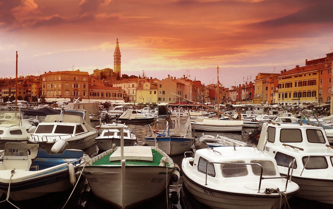 Beautiful seaside town of Rovinj (image from pixabay)