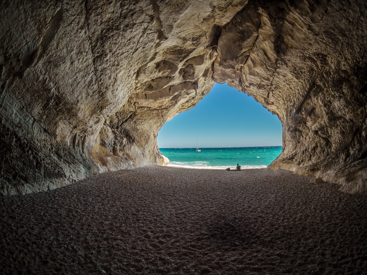 Beautiful Cove In Sardinia (img from Pixabay)