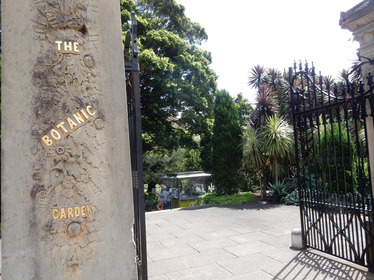 Entrance into the Botanic Garden