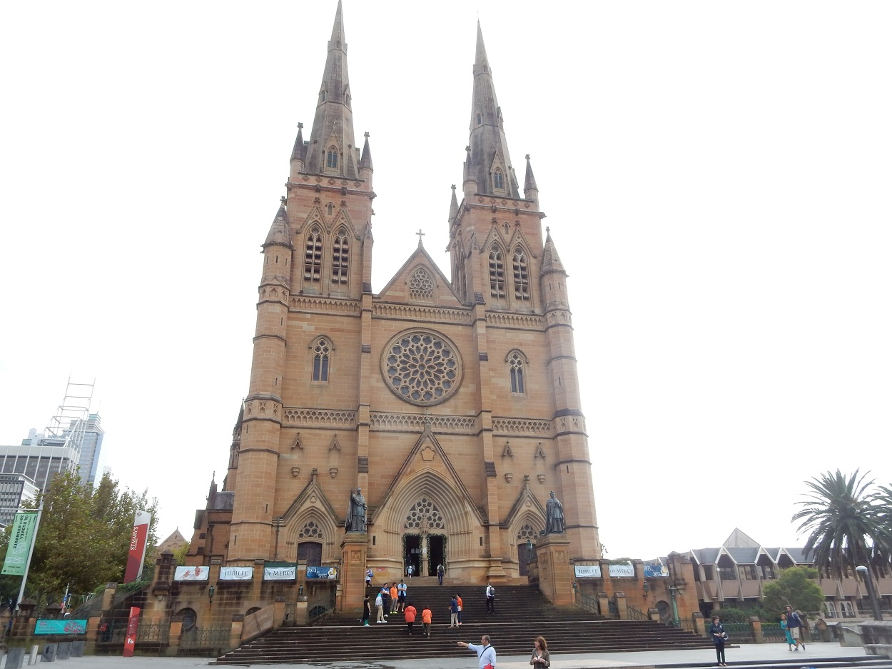 Beautiful Gothic St Mary's Cathedral