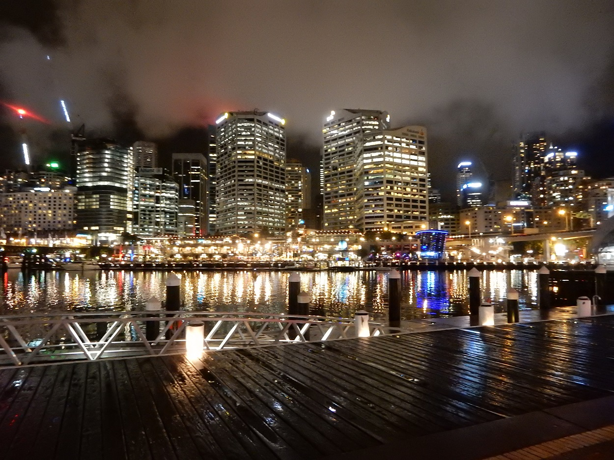 The Harbour's true beauty shines at night