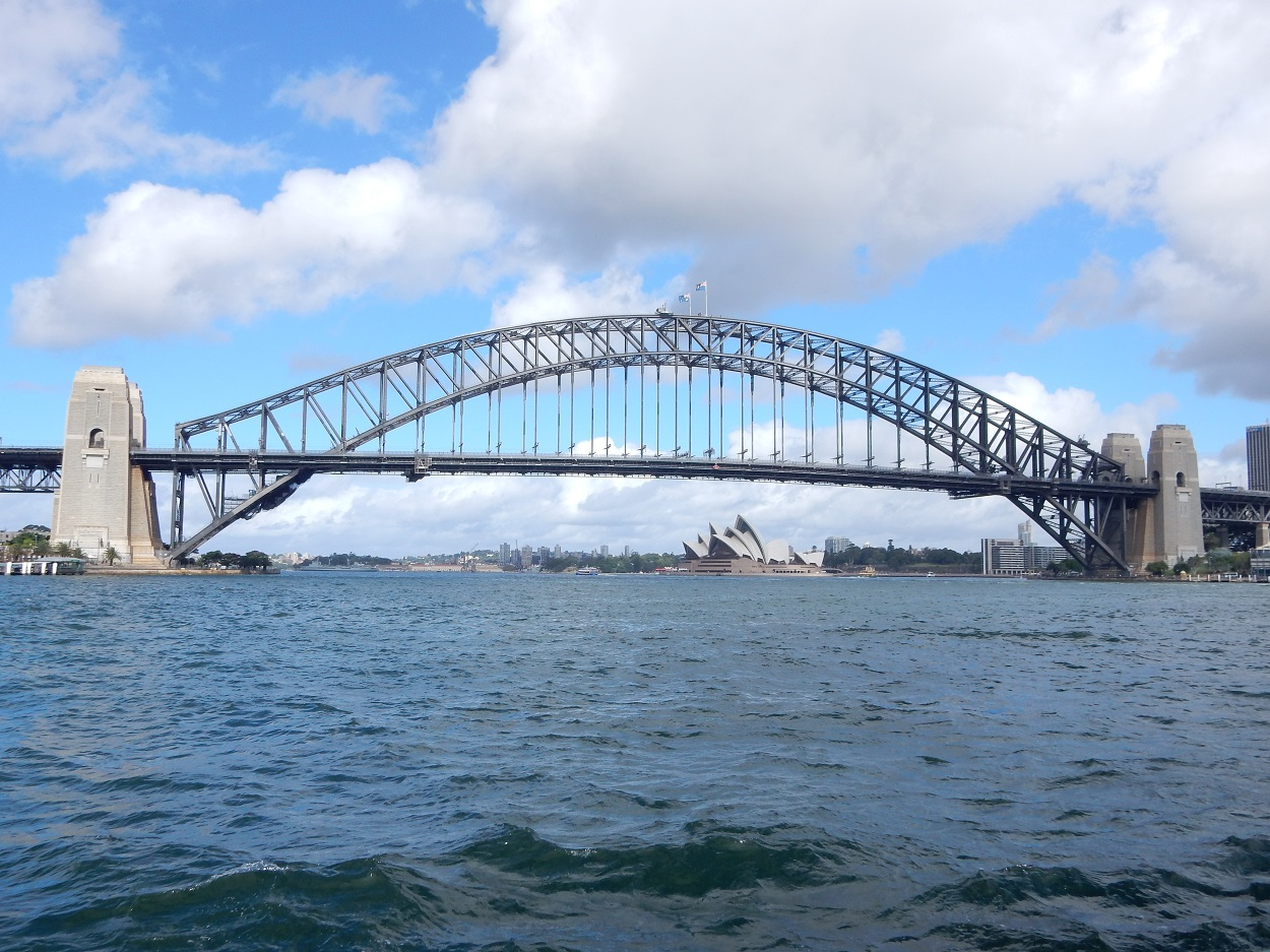 Ride a ferry to get incredible views of Sydney Harbour and the Opera House