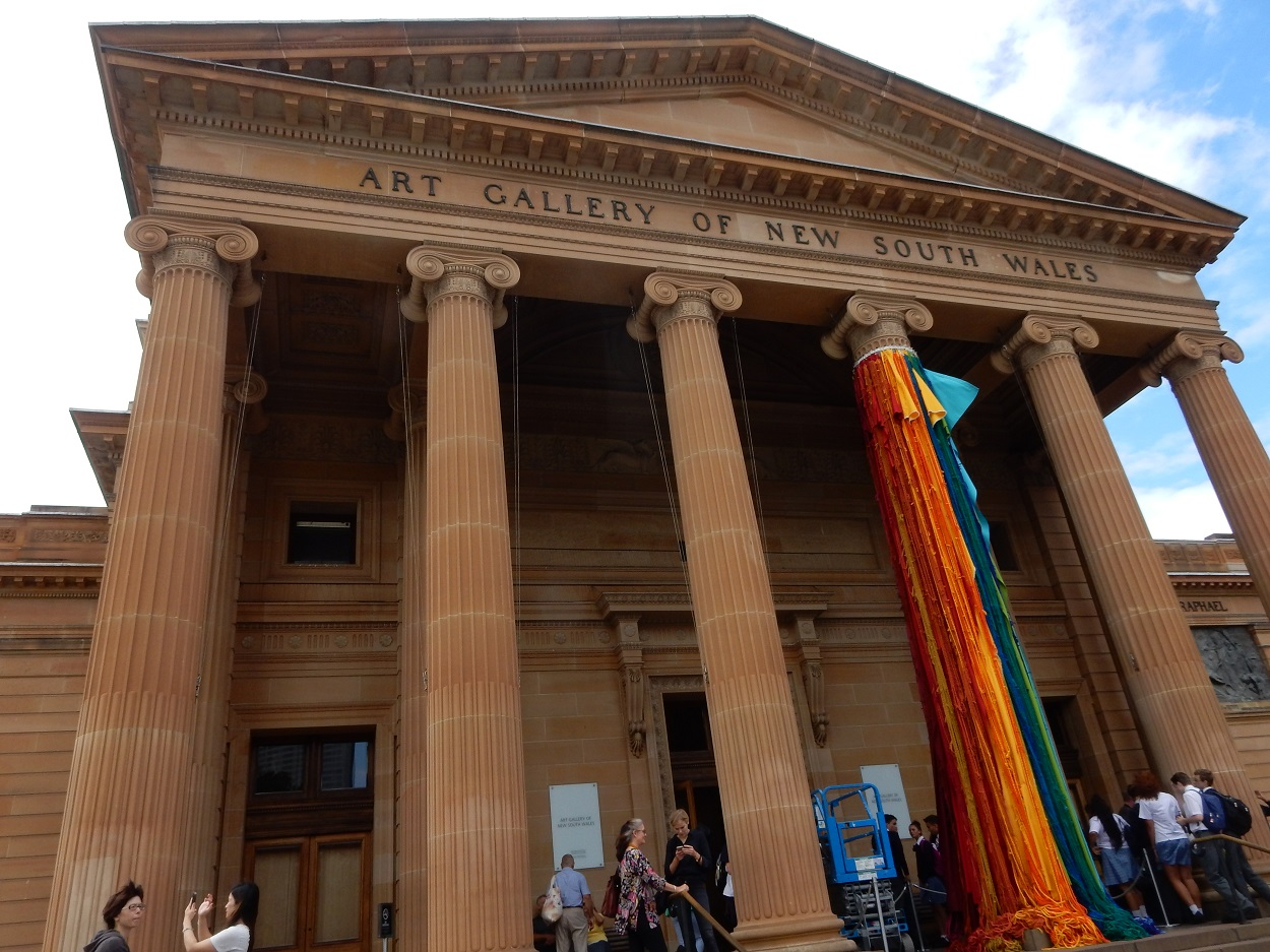Entrance to NSW Gallery