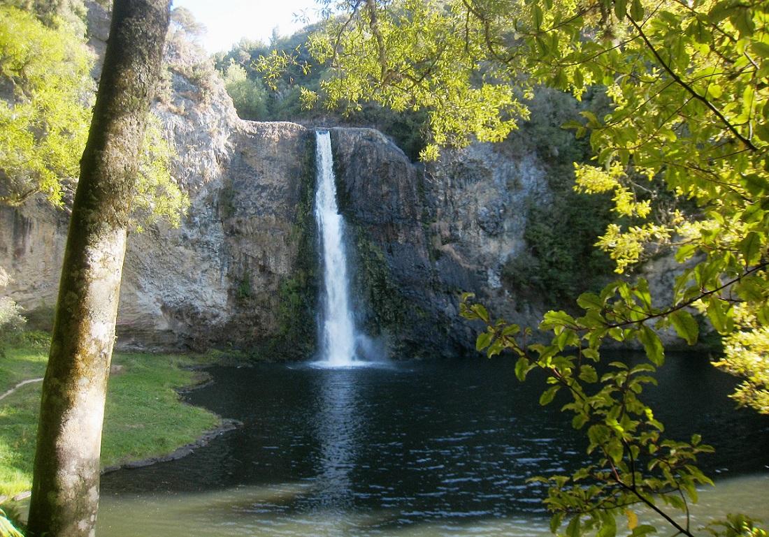 Take a hike to discover the beautiful Hunua Falls