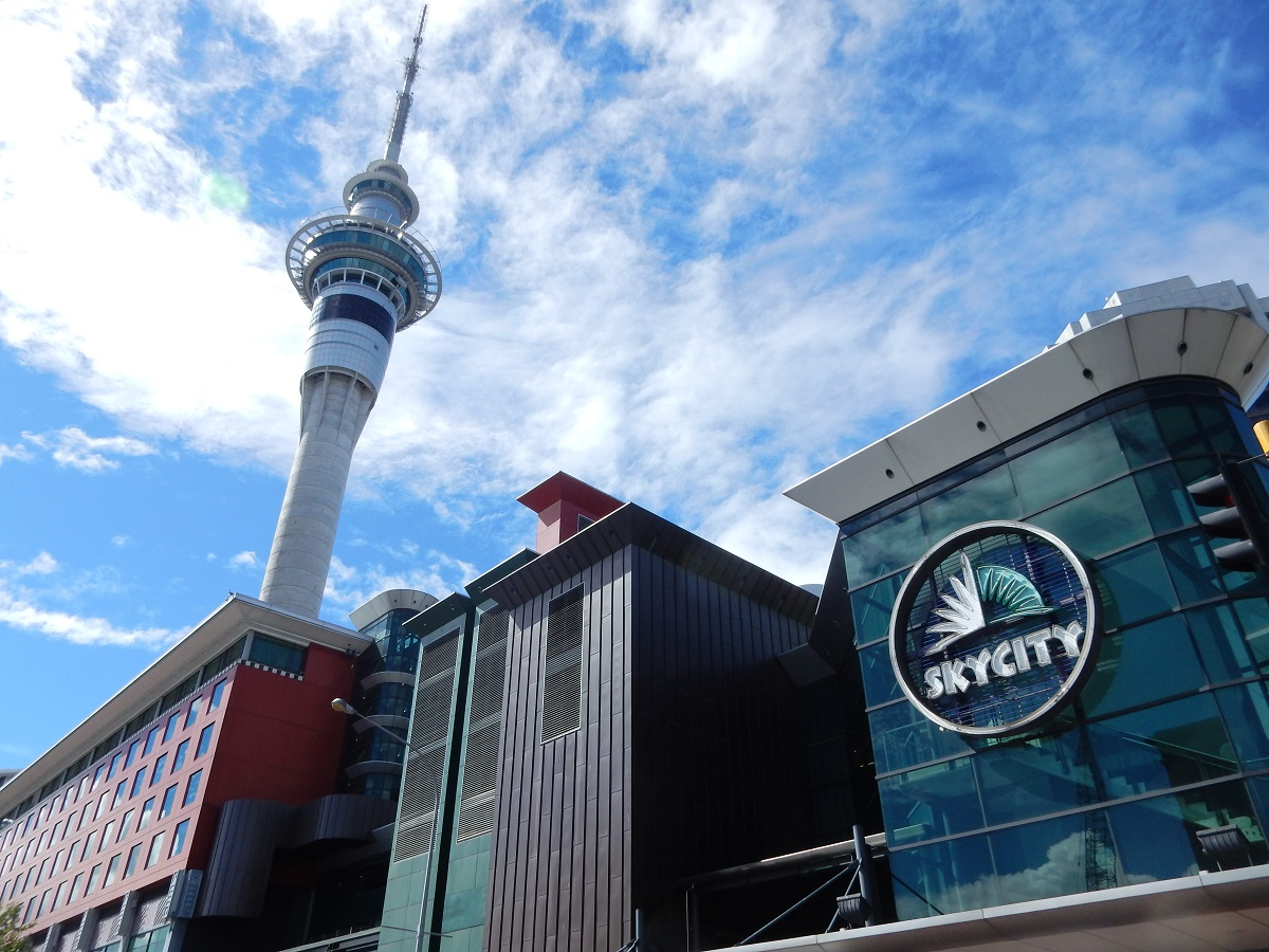 SkyCity and Sky Tower buildings