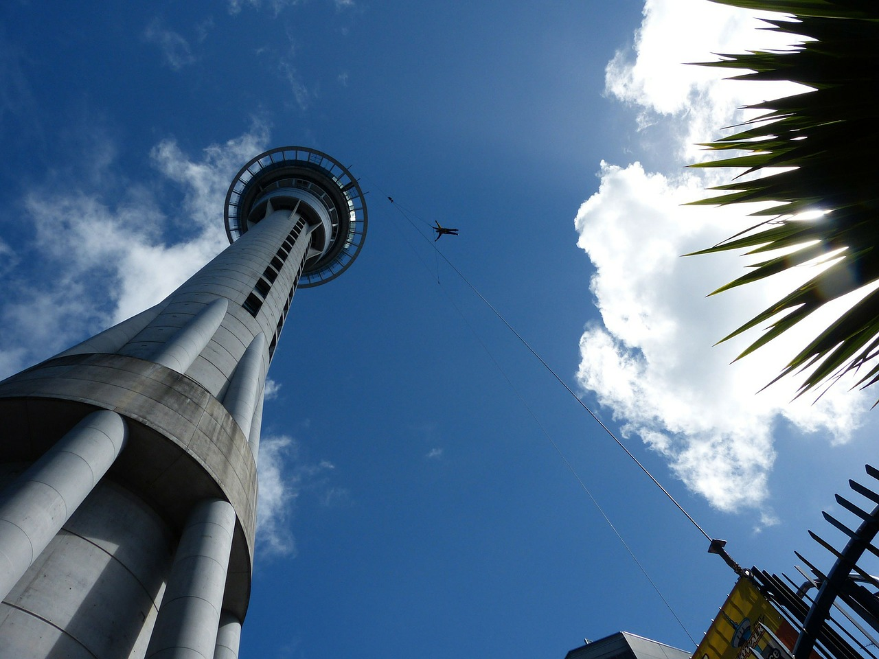 For adrenaline rush try jumping off the Sky Tower