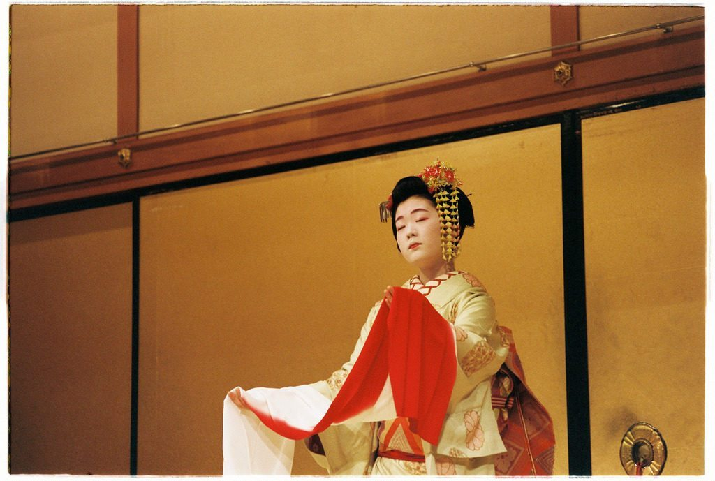 Nightly performance in Gion Corner photo credit: Maiko performing in Kyoto via photopin (license)