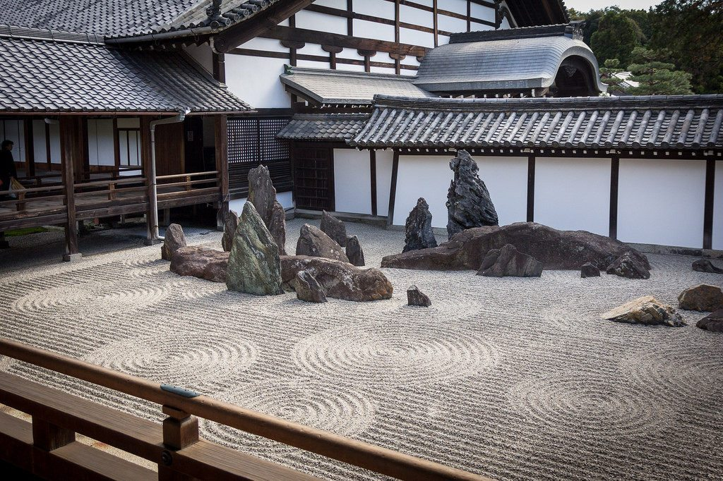 Rock Zen Garden in Tofukuji Temple photo credit: Tofukuji temple Kyoto via photopin (license)