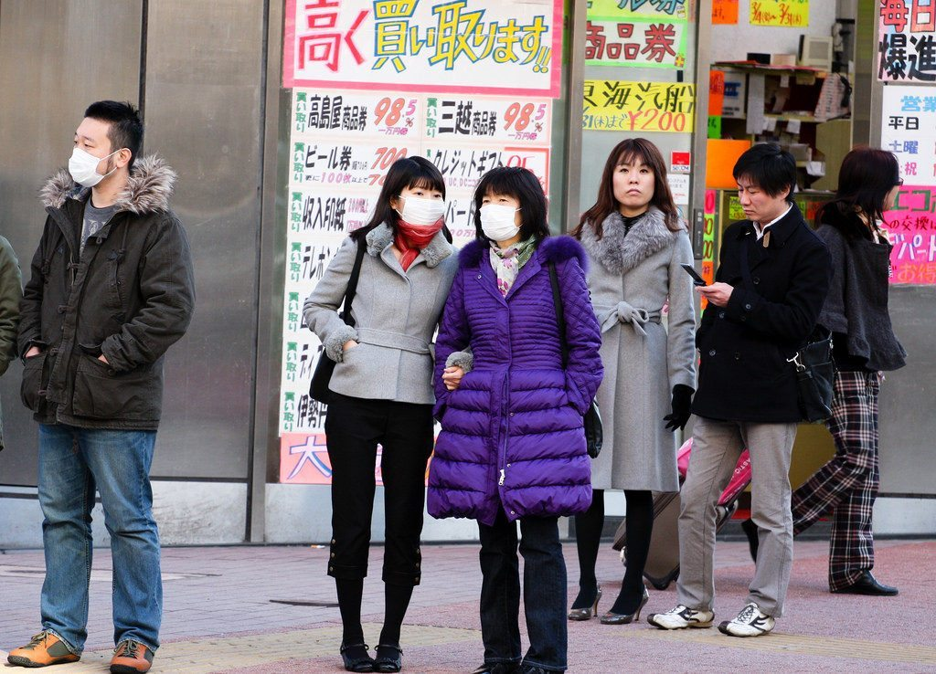 Everywhere you turn you will see people wearing face masks.