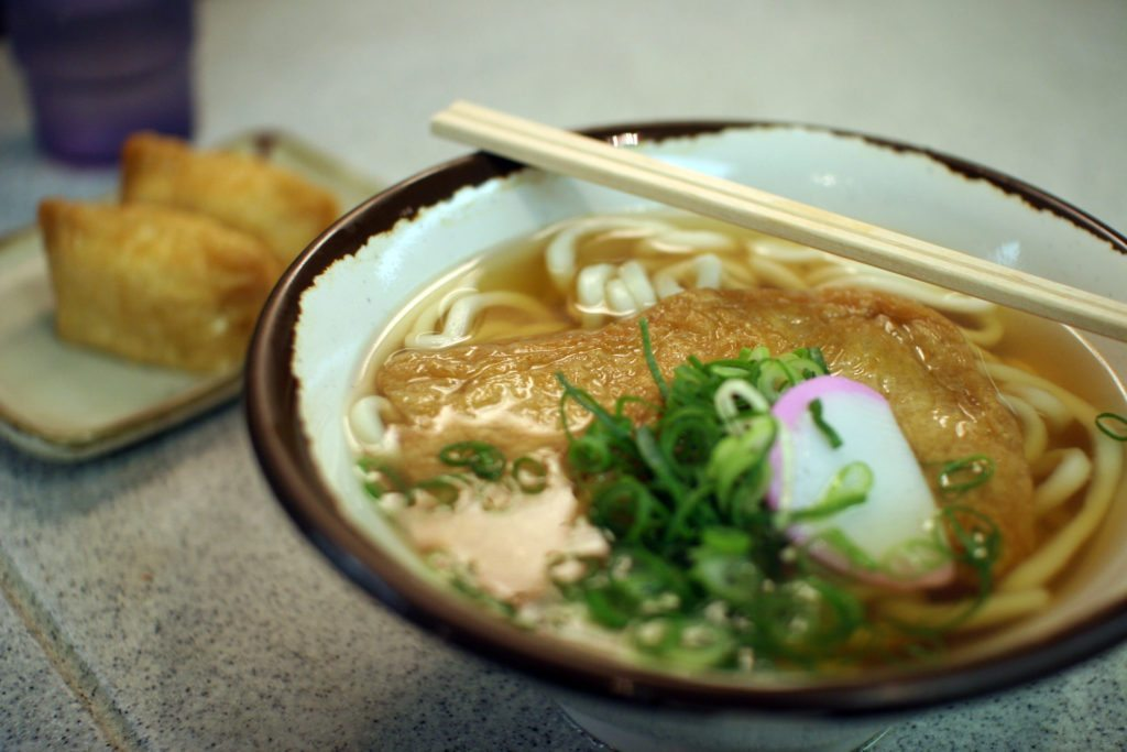 Slurping down Udon is one of my favorite things in Japan.