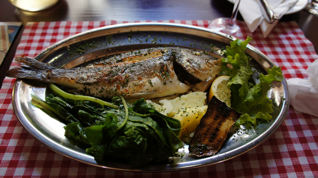 photo credit: brownpau Grilled Fish, Ristorante Atrium, Palaca Cindro, Diocletian's Palace, Split, Croatia via photopin (license)